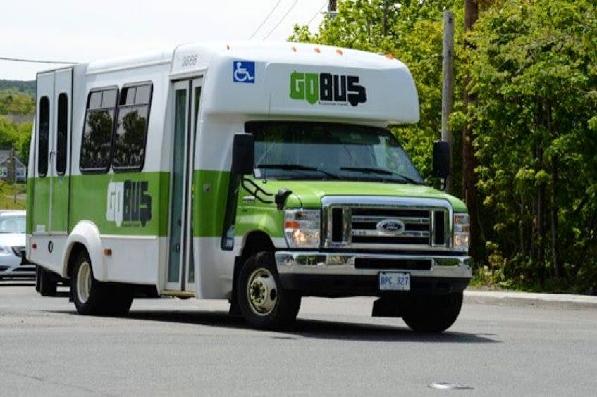 Half the funding for a program to purchase up to 18 new accessible paratransit vehicles for Metrbus's GoBus system is coming from Ottawa. — File photo