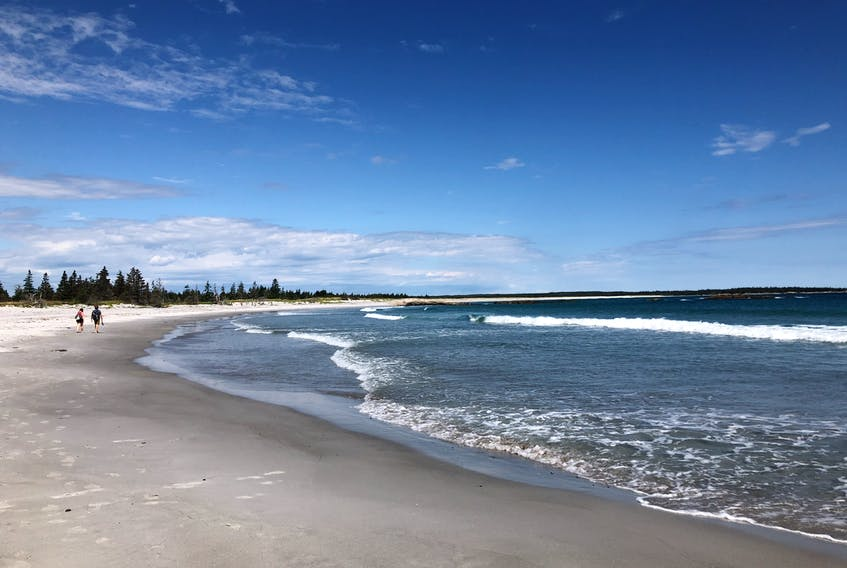 The beauty of the rugged coastline coupled with the white sandy beaches and cool blue water make the beaches in Queens Coast a treat for the senses. - Photo Courtesy Judith Kays