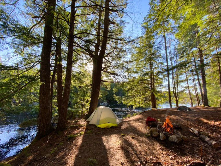 Campers at the Gateway Campground are treated to special morning views along the Mersey River. - Photo Courtesy Jennika Hunsinger