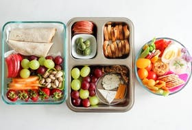 Myra Hyland-Samson, who runs to blog Delicious on a Dime, suggests creating a bento-style lunch for kids when they head back to class next month.