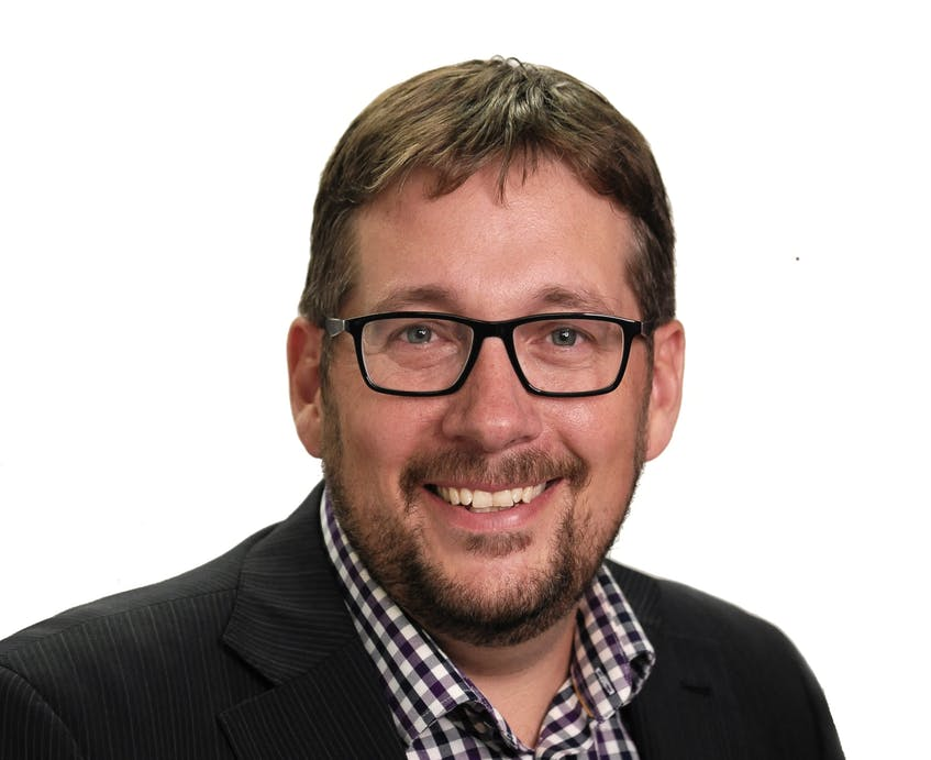 Trevor Boudreau is the PC candidate in the redrawn riding of Richmond.- Contributed