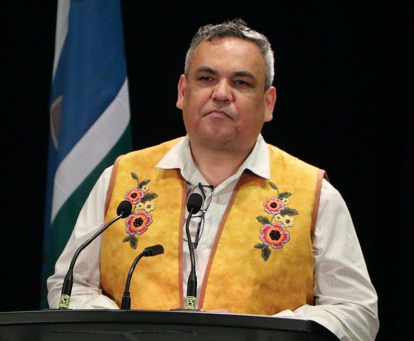 Sheshatshiu Innu First Nation Chief Eugene Hart. — Glen Whiffen/The Telegram