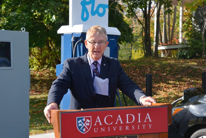 Acadia University President and Vice Chancellor Dr. Peter Ricketts says that although the university hasn't made COVID-19 vaccination mandatory, it maintains the right to do so or to take a more directive or prescriptive approach if necessary. FILE PHOTO
