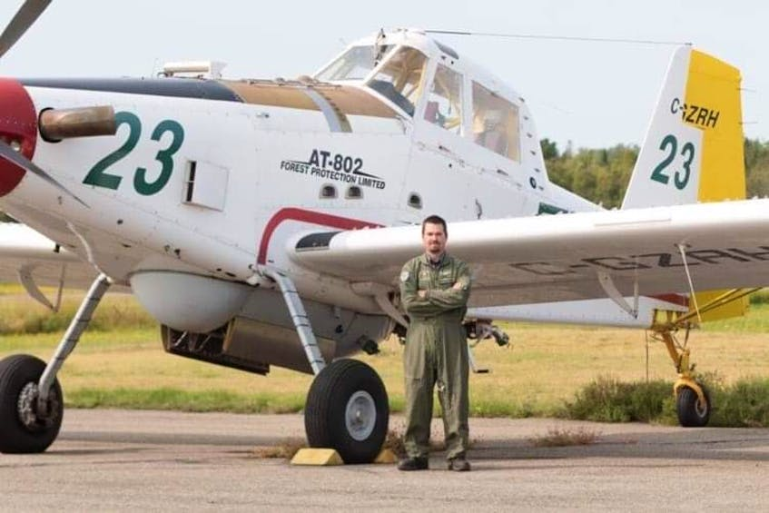 Eric Robb, who attended Central Kings High School, chased his dream of being able to fly airplanes for a living.  - Contributed