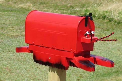 Until I moved to Atlantic Canada, I had never noticed mailboxes. Over the years, I have come across some very interesting mail holders. Michele Lawlor snapped a photo of this cleverly disguised crustacean on Route 209 in Point Prim, P.E.I. If you stumble on a unique mailbox, I'd love to see it.  Snap a photo and send it to: weathermail@weatherbyday.ca     I'll share the photos with everyone next Monday.