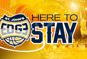 This is the image that accompanied the Twitter post that announced the St. John's Edge will play in the NBLC this coming season. — twitter/@stjohnsedge