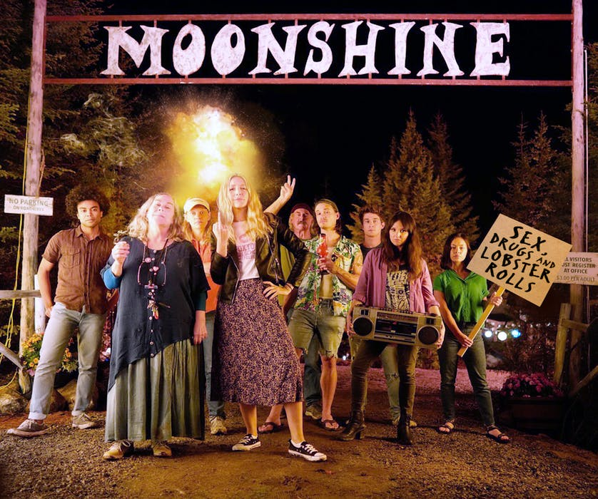 The cast of CBC's new Hubbards-shot comedy Moonshine are fired up for the series premiere on Tuesday, Sept. 14 at 9 p.m. - CBC