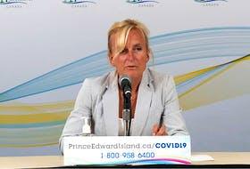 P.E.I.'s chief public health officer Dr. Heather Morrison
