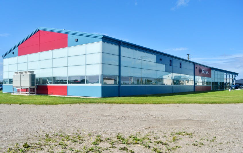 Protocase's new 45 Drives building in Sydney's Harbourside Commercial Park opened in early May. The data storage unit manufacturer employs 35 people in the building that is located on the grounds of the former Sydney steel plant. DAVID JALA/CAPE BRETON POST - David Jala