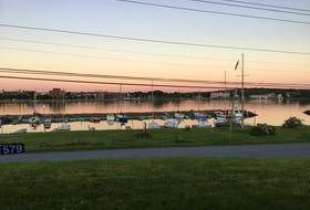 Beryl Sutherland of Westmount snapped this beautiful photo overlooking the harbour and downtown Sydney. In the foreground, boats sit peacefully at the moorings within the Dobson Yacht Club while in the background is the busy city of Sydney. Thank you, Beryl, for this beautiful photo.