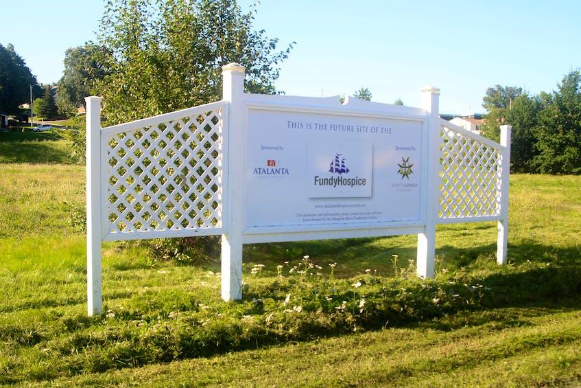 Future site of the hospice. JASON MALLOY PHOTO - Jason Malloy