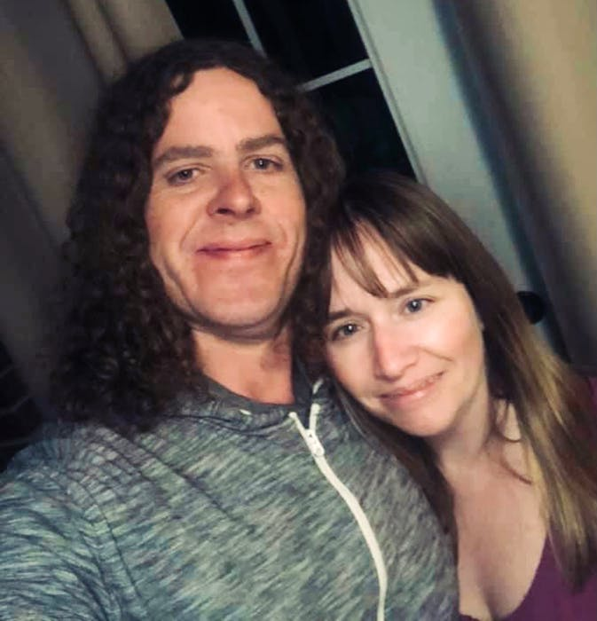 Brad Grandy, shown with his wife, is the People's Party of Canada candidate running in the riding of Cape Breton-Canso. CONTRIBUTED - Contributed