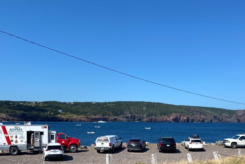 A 64-year-old woman has been missing in Flatrock since Friday, Sept. 10. The RNC and Rovers Search and Rescue were on the scene in Flatrock Monday afternoon, Sept. 13.