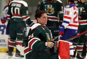 Goalie Brady James is entering his second season with the Halifax Mooseheads. - Eric Wynne