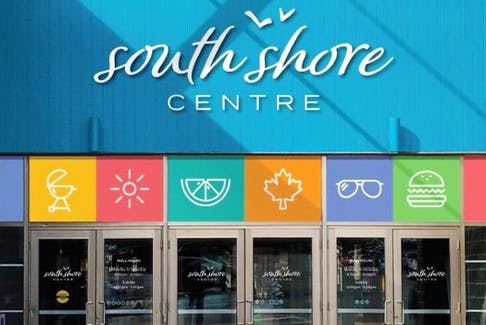 The South Shore Centre in Bridgewater, Nova Scotia, includes the Eastside Plaza and the Bridgewater Mall.