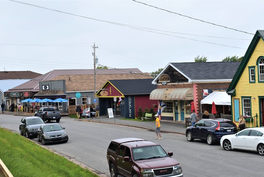 Tatamagouche's Main Street was busy on Saturday afternoon during the Labour Day weekend and that is the hope for the last weekend in September as well which would normally include the Oktoberfest celebration in the community.