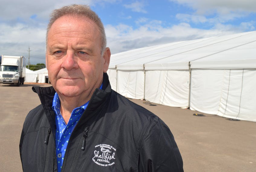 Only five days after the big tent for the P.E.I. International Shellfish Festival went up, it was coming down on Sept. 14 as Liam Dolan, founder and chair, made the decision with his board to cancel the event scheduled for this weekend due to the rising number of COVID-19 cases.