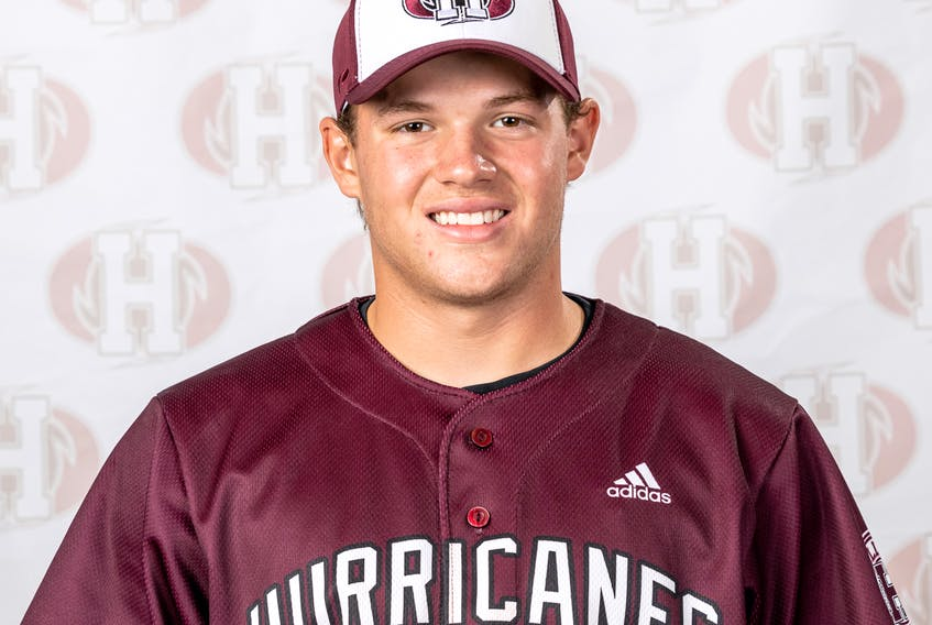 Dylan Worth played a key role in helping the Holland Hurricanes earn three of four wins in the Atlantic Collegiate Baseball Association (ACBA) last weekend.