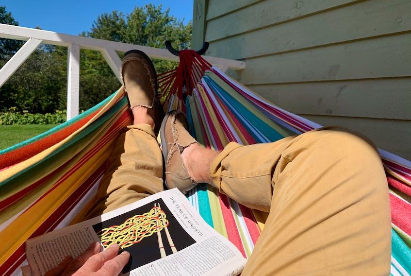 John DeMont, at last, finds the hammock empty.