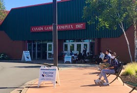 The line-up at the COVID vaccine clinic at Cape Breton University's Canada Games Complex appeared full on Sept. 7, with a constant of people going in for vaccinations. Students do not need a Nova Scotia Health Card for vaccination. The clinic is open every Tuesday from 10 a.m. - 3 p.m. and is open to both students and the general public. NICOLE SULLIVAN/CAPE BRETON POST
