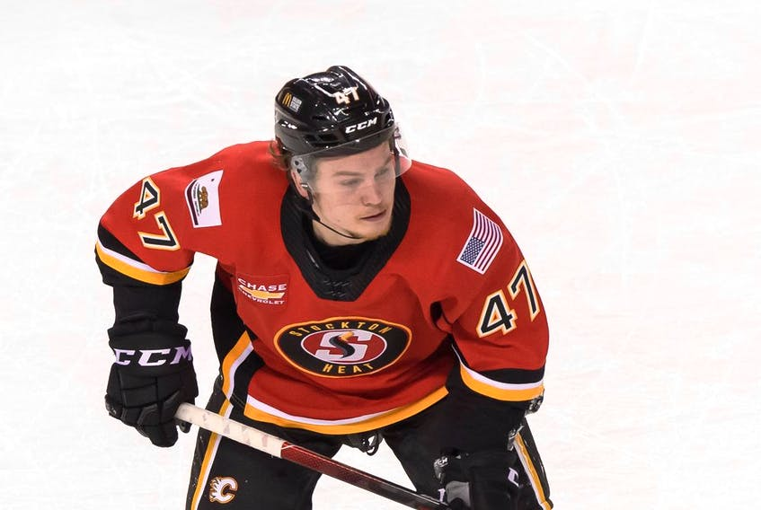 Connor Zary, 19, got a nine-game look at life in the AHL due to adjustments made to deal with the COVID-19 pandemic.