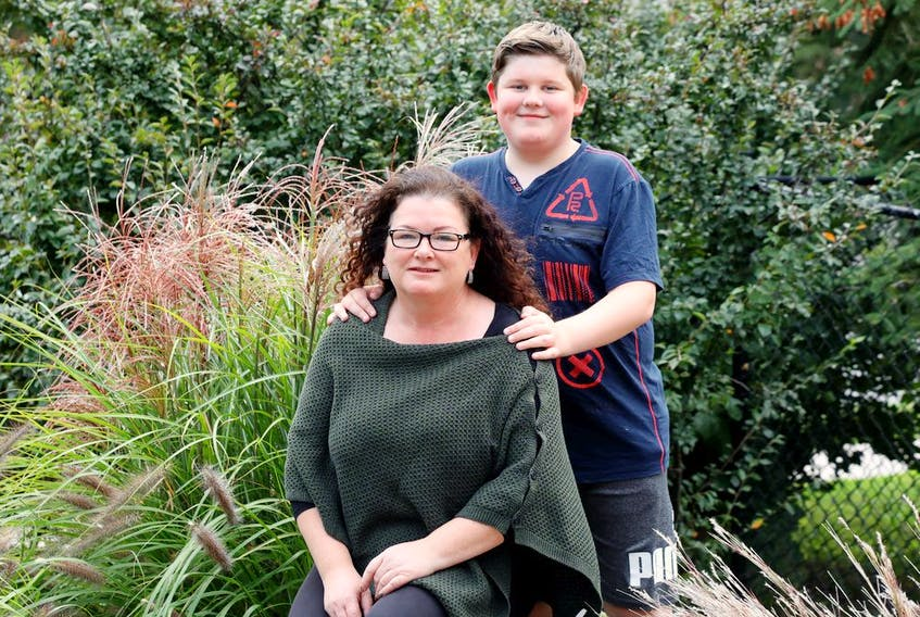 """Jessie-Lynn MacDonald says her son, Finlay """"really hasn't been himself"""" since contracting COVID-19 last year."""