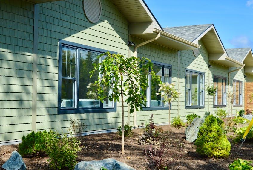 Professionally landscaped gardens surround the new hospice facility. ELIZABETH PATTERSON/CAPE BRETON POST