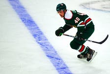Halifax Mooseheads defenceman David Lafrance heads up the ice during an exhibition game against the Cape Breton Eagles on Saturday. - Ryan Taplin/The Chronicle Herald