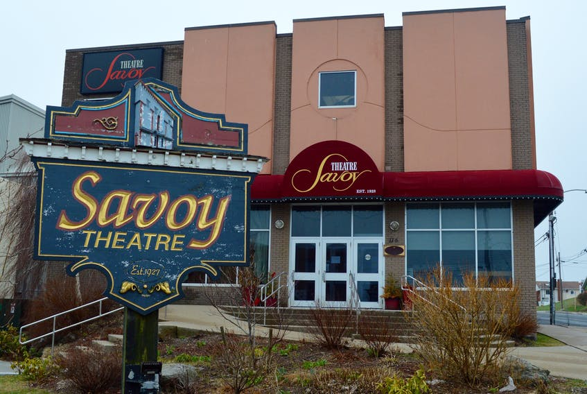A delay in lifting Phase 5 COVID-19 restrictions means fewer shows at Glace Bay's Savoy Theatre this fall. DAVID JALA/CAPE BRETON POST