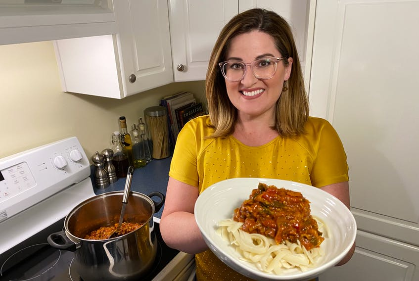 The pasta-bilities are endless when it comes to homemade spaghetti sauce. – Erin Sulley