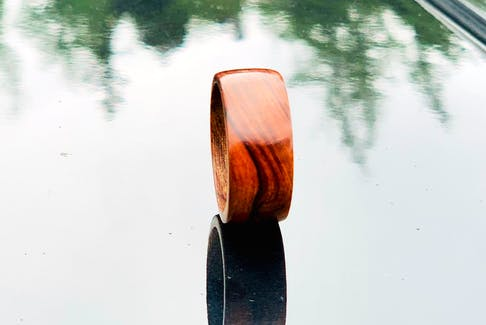 Amongst the other items Marc Cooper has made, rings are slowly starting to become more popular.