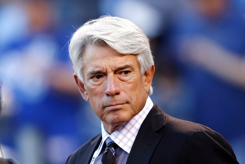 The biggest game in a season of very large Blue Jay games was played Tuesday night and Buck Martinez was nowhere to be found.
