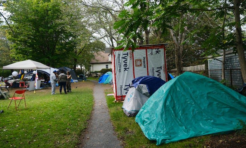 Halifax tent residents grateful for generosity of neighbourhood