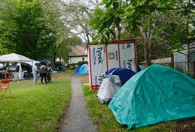 The Meagher Park shelter site.... in Halifax Wednesday September 15, 2021.  TIM KROCHAK PHOTO