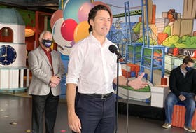 Liberal Leader Justin Trudeau made a campaign stop at the Discovery Centre in Halifax on Wednesday, Sept. 15, 2021.