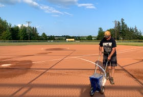 Donald Henderson is right at home at Elk Park in Brookfield. Henderson is groundskeeper at the South Colchester softball park and is dedicated to keeping the facility in pristine condition for players of all ages to enjoy.