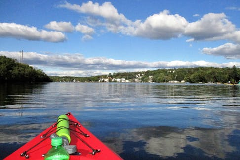 Sylvie Theriault treated herself to a late afternoon kayak outing on Tuesday in Shubie Park near Halifax. The view she had of Lake Charles was breathtaking. Breathtaking, to say the least. I hope you'll be able to get out many more times before the cooler fall weather settles in Sylvie.