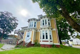 The SHYFT house at the 6 Trinity Place, located adjacent to Argyle Street in the town of Yarmouth. TINA COMEAU PHOTO