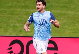 HFX Wanderers star Joao Morelli takes his Canadian Premier League-leading 11 goals in to his team's important road match Saturday at York United. - Andre Ringuette / CANADIAN PREMIER LEAGUE