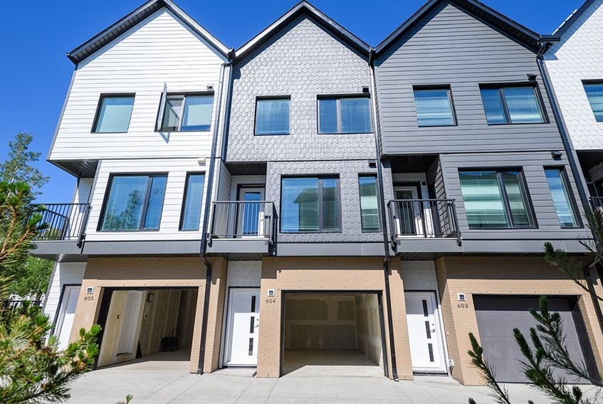 The affordable housing development in Bridlewood features 48 two-bedroom and 14 four-bedroom homes.