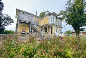 The SHYFT house at the 6 Trinity Place, located adjacent to Argyle Street in the town of Yarmouth. TINA COMEAU  TRICOUNTY VANGUARD