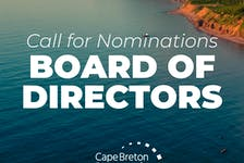 The Cape Breton Partnership is looking for new members to join its board of directors. Any investors of the Cape Breton Partnership are eligible, with a nomination deadline of Sept. 20 at 4 p.m.