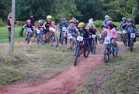 The Grades 2 and 3 racers are off at the Colchester Short Track.