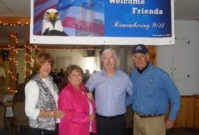 """For Len Kirschner and his wife Peggy, their experience as """"plane people"""" who ended up in St. John's after 9/11 created a lasting friendship with the couple who took them in."""