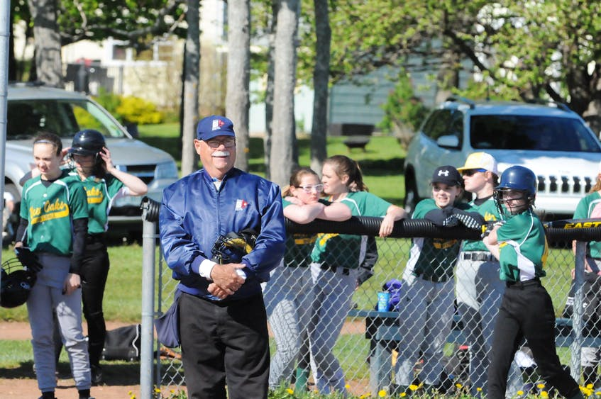 Garth Turtle umpired softball and served as the sports commissioner for the P.E.I. School Athletic Association for a number of years. - Jason Simmonds