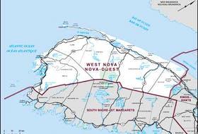 West Nova Riding. ELECTIONS CANADA WEBSITE