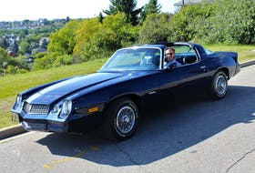 As a young owner of the last of the second-generation Camaro, Larry Vanderveen kept the car off the roads in the winter and has pampered the vehicle since he bought it in 1982. Contribute/Larry Vanderveen