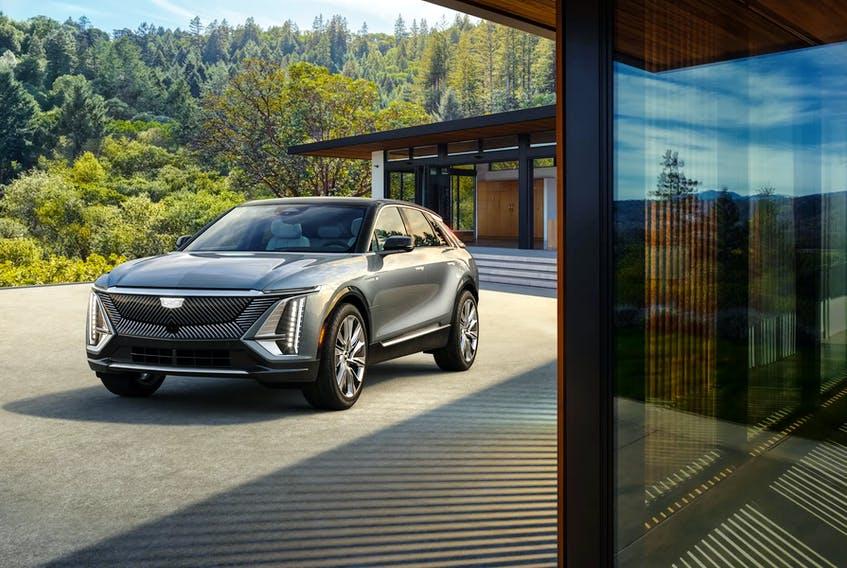The 2023 Lyriq is hailed as being Cadillac's new flagship. Handout/Cadillac