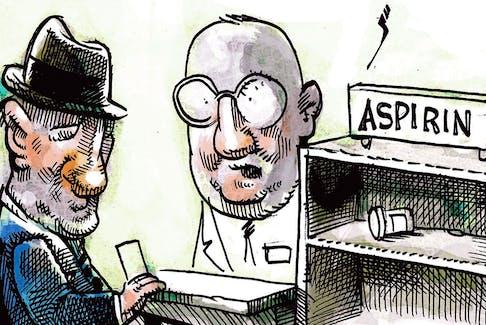 Michael de Adder's editorial cartoon for September 21, 2021.