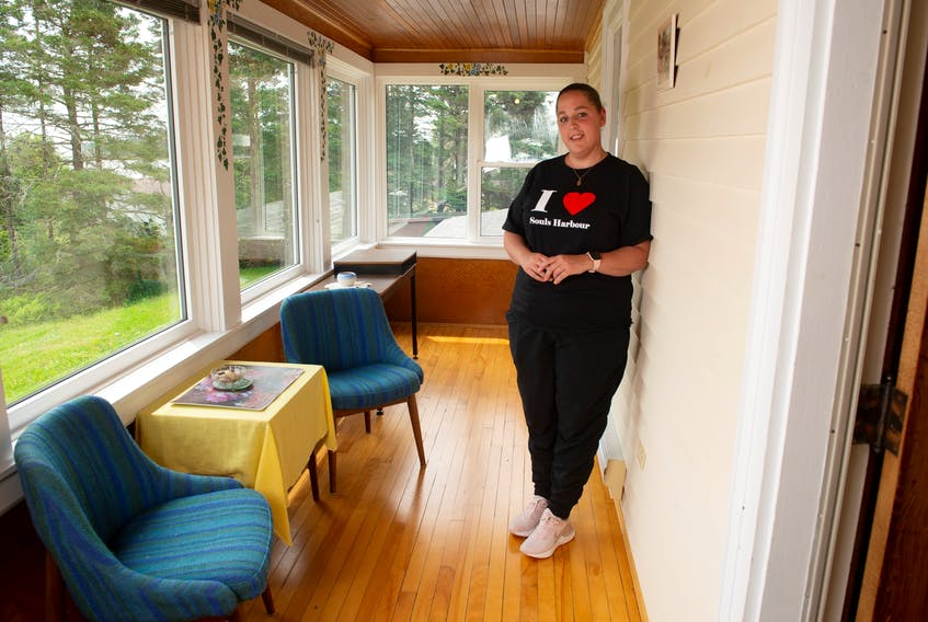 Souls Harbour Rescue Mission staffer TJ Gaudaur says that when she was a young, single mother of three, access to a women's shelter like the one the mission will open this October would have changed her life. - Photo Contributed.